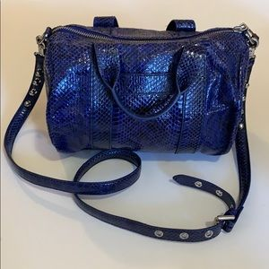 Rebecca Minkoff Water Snake Leather Purse